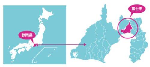 富士市マップ