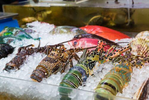 那覇市の第一牧志公設市場