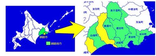 釧路市マップ
