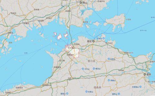丸亀市マップ