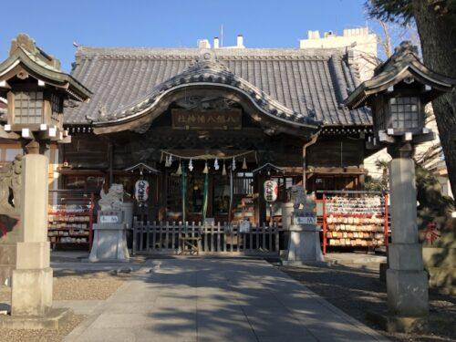 木更津市の八剱八幡神社