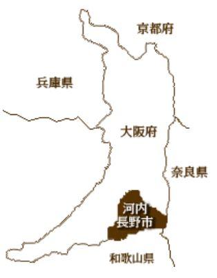 河内長野市マップ