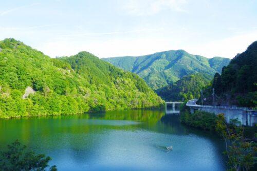 河内長野市の滝畑ダム